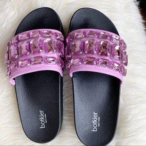 NIB Botkier | Freda Crystal Slide Sandals 7M